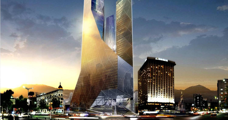 Torre Santander en Paseo de Reforma, diseño de TEN Arquitectos